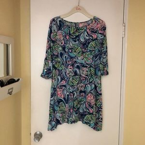 Lilly Pulitzer Dresses - Hanging with the fronds cotton dress small Hangin